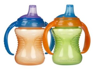 Two Munchkin Sippy Cups