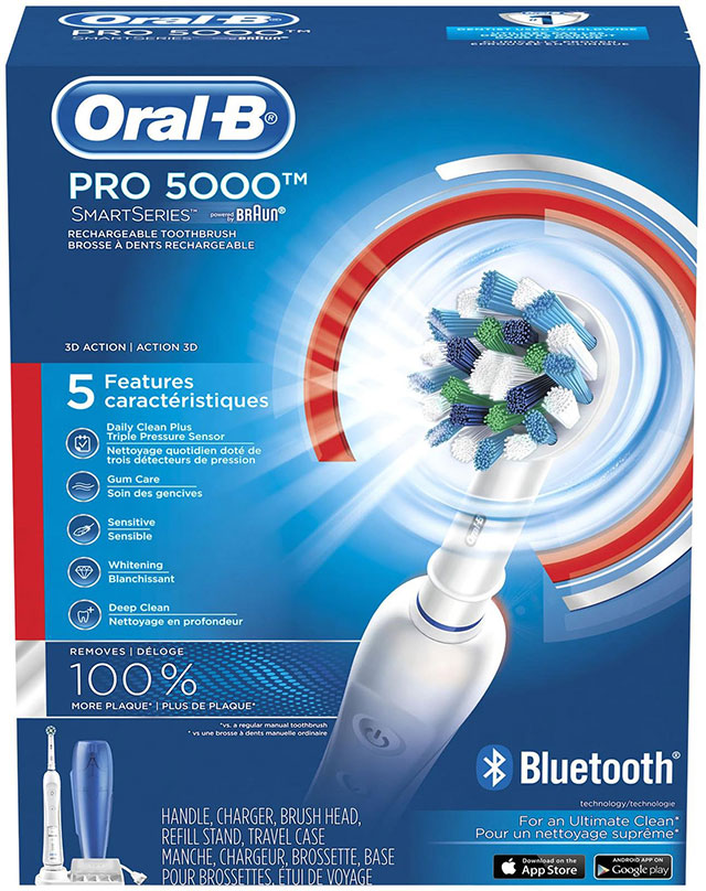 Oral B Power Pro 5000 Toothbrush